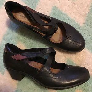 COBB HILL NEW BALANCE comfort X-strap low heels